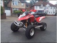 Road legal quad bike GAS GAS 450 not Quadzilla raptor