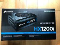 Corsair HX1200i High-Performance ATX Power Supply — 1200 Watt 80 Plus Platinum Certified PSU