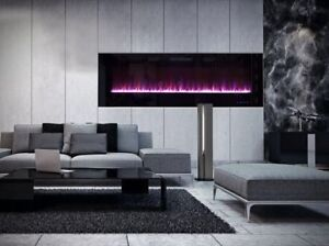 BNIB HIGH QUALITY RECESSED FIREPLACE - LED 'PLEASE READ'