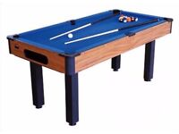 Bce pool table 6ft £20