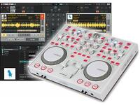 Reloop Digital Jockey 2 Interface Edition DJ Controller (limited edition white version)