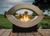 BRAND NEW ULC RATED ETHANOL BIOFUEL FIREPLACE ELIPSE