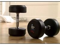 MENS HEALTH FIXED DUMBBELL 2 X 15KG (BRAND NEW & BOXED)