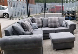 Verona corner sofa with scatter back cusion