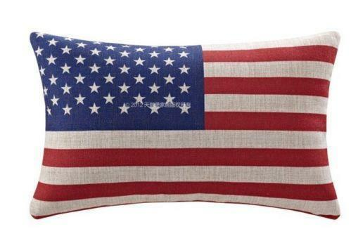 American Flag Pillow Ebay