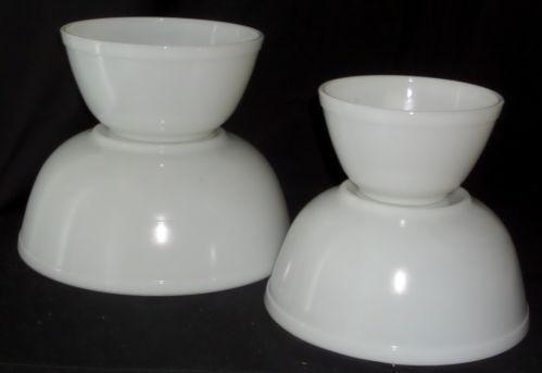 glass mixing bowl set ebay. Black Bedroom Furniture Sets. Home Design Ideas