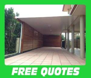INSULATED PATIOS AND CARPORTS FREE QUOTES 20YRS EXPERIENCE West End Brisbane South West Preview