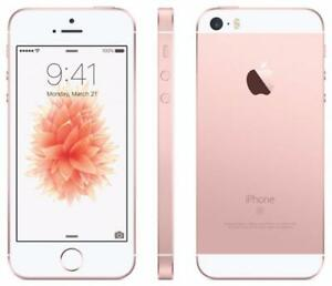 BRAND NEW SEALED iPhone SE 32GB Rose Gold Bell / Virgin /w 1 year Apple Warranty $350 FIRM Regular $590+tax!!!