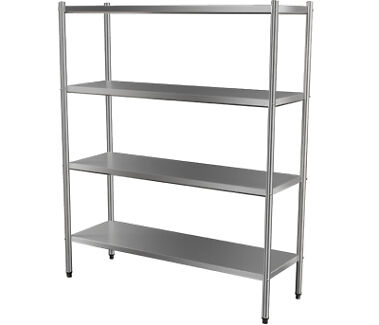 4-TIER STAINLESS SHELF PRICED FROM $459.00