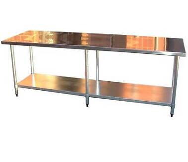 Large Stainless Steel Bench Northgate Brisbane North East Preview