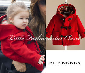 *** Authentic Burberry Duffle Coat for 6 Months Princess :)