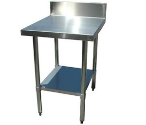 Stainless Steel Benches with Splashback - Various Sizes & Prices Northgate Brisbane North East Preview