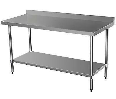 stainless steel workbench tables work surfaces ebay. Black Bedroom Furniture Sets. Home Design Ideas