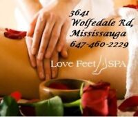 Massage with ❤❤ ($50/h )647-460-2229 Mississauga