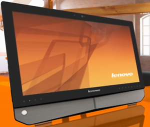 Lenovo all-in-one touchscreen desktop (Windows 7)