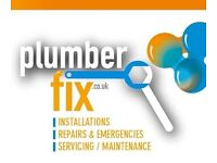 CALL PLUMBER FIX for all your plumbing, heating, emergencies, leaks, drips, tanks, boilers, gas,