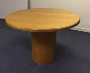 Round Pedestal Style Table