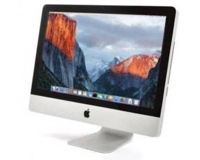 """iMac 21.5"""" intel 2.6 ghz gb 320 gb Office &OS X Yosemite AIO"""
