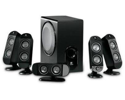 Logitech X-530 Sound System Speakers  Bondi Junction Eastern Suburbs Preview