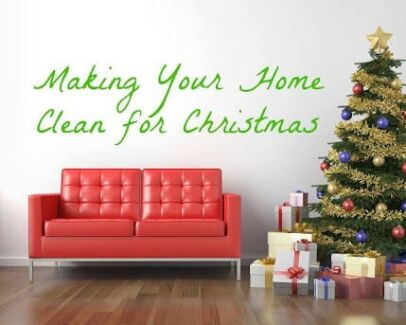 Christmas clean available now