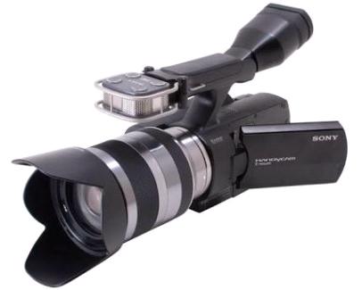 Like new Sony NEX-VG10 18-200mm lens