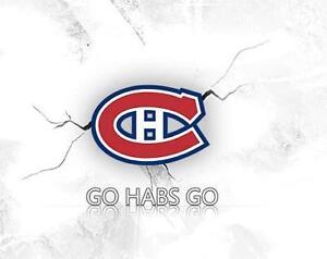 Canadiens billets (Gris) 2 Matchs
