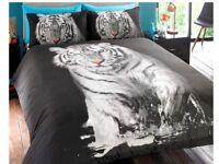 Tiger Duvet Set - King size