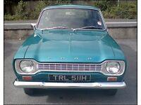 Ford escort mk1 estate car 1969 gen 59k low owner car full mot