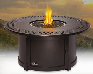 "Napoleon ""Kensington"" Round Propane Fire Table"