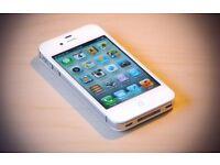 New I phone 4S white/black 16GB Unlocked £55