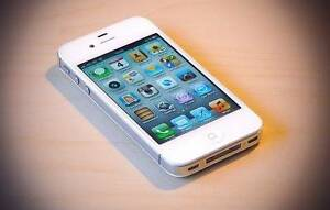 excellence condition white iphone 4s 32g Docklands Melbourne City Preview
