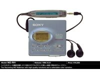 sony portable mini disc player......................................................................