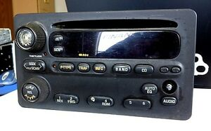GM am/fm/cd radio player (GrandAm, Alero, etc)