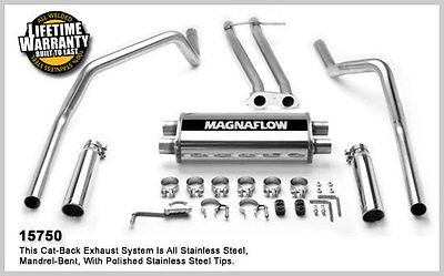 1996-1998 Chevrolet C1500 K1500 V8 5.7L Extend Magnaflow Cat-Back Exhaust System