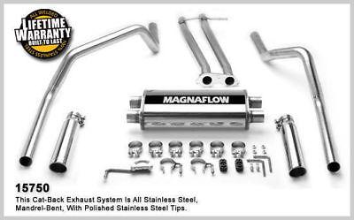 1996-1998 Chevrolet C1500 K1500 V8 5.7L Extend Magnaflow Cat-Back Exhaust System
