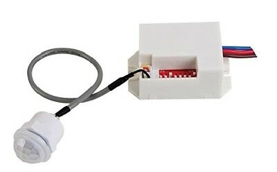 Mini Bewegungsmelder Einbau 360° Decke 10-800W Unterputz 6m Sensor PIR LED