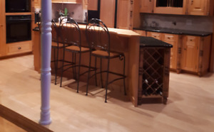 3 Counter Height Bar Stools