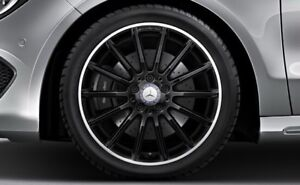 Mercedes CLA rims with winter rubber