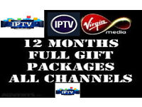 GIFTS 12 MONTH LINES CABLE BOX SKYBOX OPENBOX MAG BOX MUTANT AMIKO NOVA