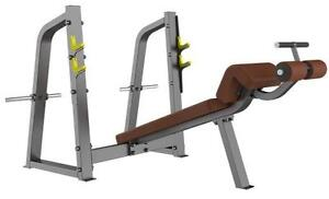 NEW 3 BENCHES,  COMMERCIAL OLYMPIC SET (INCLINE) (DECLINE) (SHOULDER PRESS)