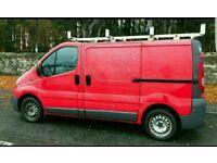 Vauxhall vivaro 2.0 cdti red 2008 160k miles great van full year mot