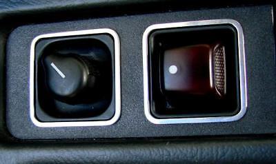 Mercedes Benz SLK R170 180 280 200 350 AMG Brabus Alu Zierblende Spiegelverst. D