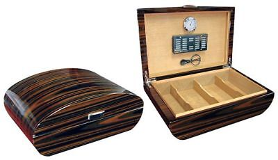 The Waldorf 150 Cigar Humidor Case with Scissors / Hygrometer ect.