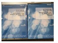 SQL sever 2008 course material books