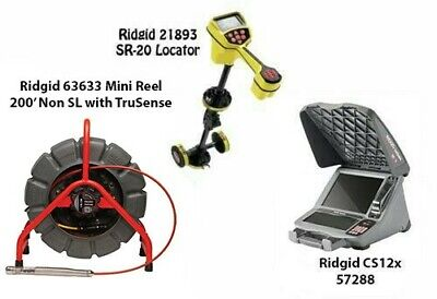 Ridgid 200 Minireel Non Sl Wtrusense63633 Seektech Sr-2021893 Cs12x57288