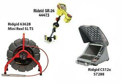 Ridgid 200 Mini Reel Sl Ts63628 Seektech Sr-24 Locator 44473 Cs12x 57288
