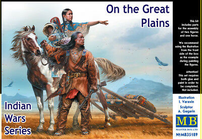MASTER BOX™ 35189 Indian Wars: On The Great Plains in 1:35