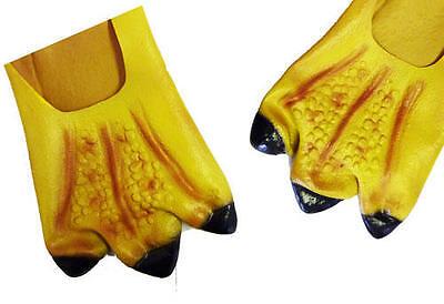 Chicken Feet Covers Farm Animal Hen Big Bird Halloween Fancy Dress](Chicken Costume Feet)