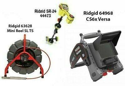 Ridgid 200 Slts Mini Reel63628seektech Sr-24 Locator44473 Cs6x Versa64968
