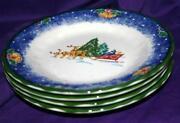 Mikasa Christmas Plate